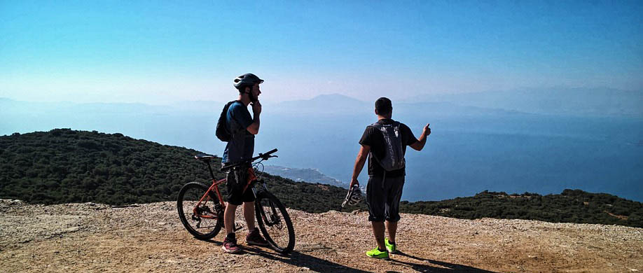 MTB cycle tours on Pilio / Pelion, Greece