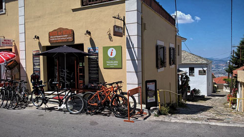 Cycle tours base, Pelion