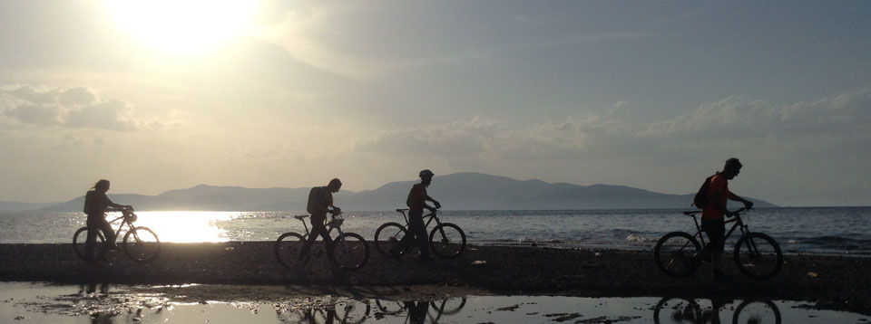 MTB cycle tours by the sea on Pelion, Pilio